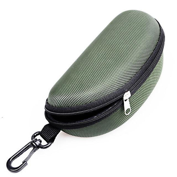 PINkart-USA Online Shopping Army Green 11 Colors Fashion Popular Portable Hard Hook Up Zipper Eyeglasses Eyewear Sunglasses Case Protector