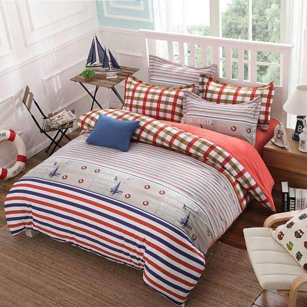 PinKart-USA Online Shopping AS 8 / Full Classic Active Bedding Set /Comforter Set/ Duvet Cover Set/ Bed Sheet