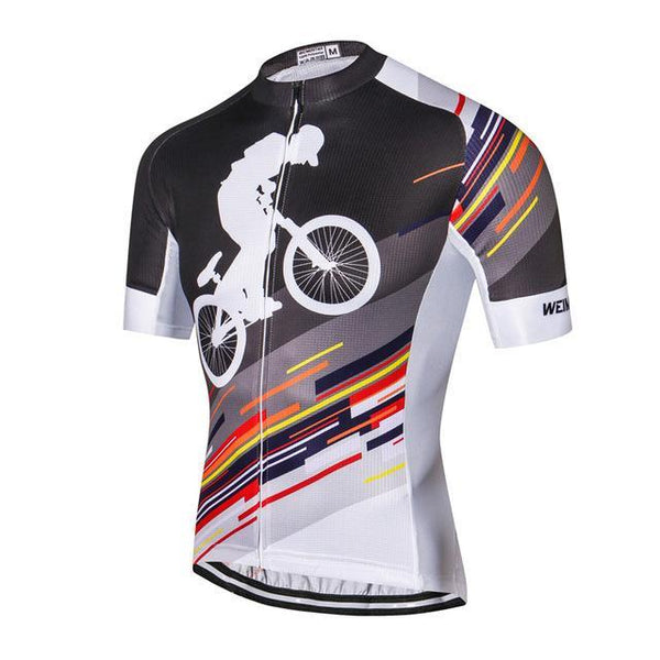 PINkart-USA Online Shopping As Picture 1 / L Outdoor Sport Cycling Clothing Short Sleeve Racing Cycling Jersey Top Road Mtb Bike Jersey Team