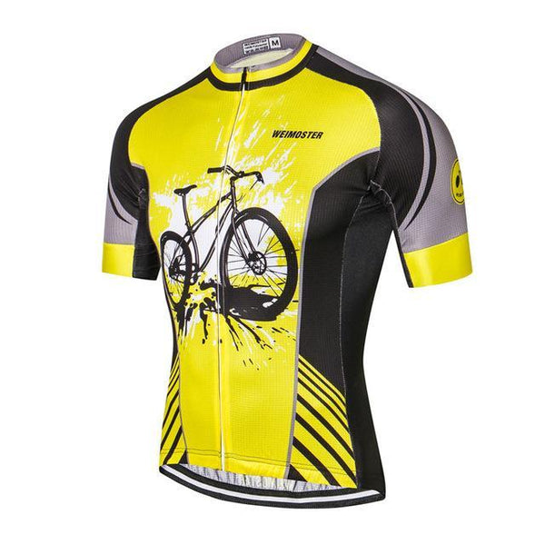 PINkart-USA Online Shopping As Picture 2 / L Outdoor Sport Cycling Clothing Short Sleeve Racing Cycling Jersey Top Road Mtb Bike Jersey Team