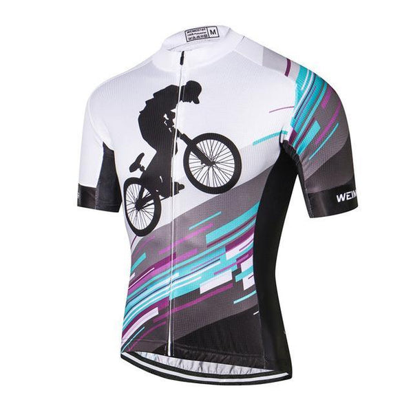PINkart-USA Online Shopping As Picture / L Outdoor Sport Cycling Clothing Short Sleeve Racing Cycling Jersey Top Road Mtb Bike Jersey Team