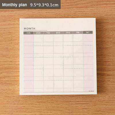 PinKart-USA Online Shopping B Cute Kawaii Weekly Monthly Work Planner Book Diary Agenda Dokibook For Kids School Supplies Free