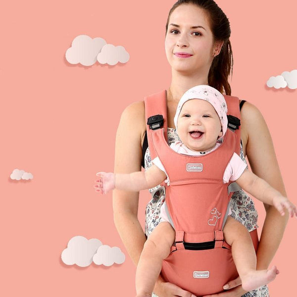 PINkart-USA Online Shopping Baby Carrier 0-30 Months Breathable Front Facing 20Kg Infant Backpack Hip Seat 3 In 1 Comfortable