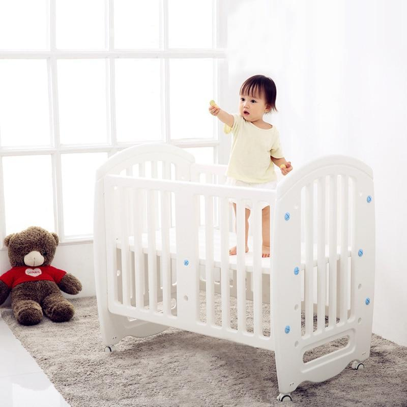 Baby Cot Non Toxic Pe Plastic Material Crib For Infant