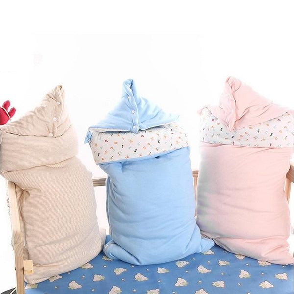 PINkart-USA Online Shopping Baby Sleeping Bag Winter Envelope For Newborns Sleep Thermal Sack Cotton Kids Sleepsack Carriage