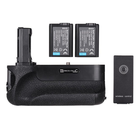 PINkart-USA Online Shopping Battery Grip Replacement Camera Battery Holder With Np-Fw50 Battery Remote Control For Sony