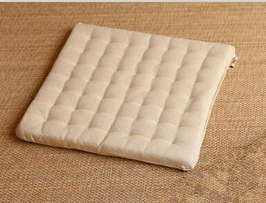 PINkart-USA Online Shopping Beige Color / 40x40cm (2Pcs/Lot)Zen Cushion Zabuton Zafu Square 40Cm Floor Meditation Seat Tatami Mat Zabuton Chair