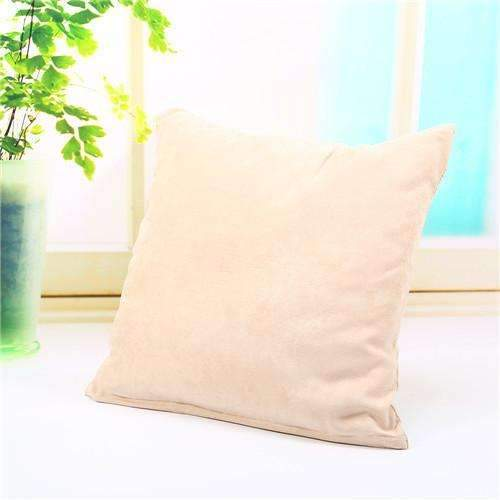 PinKart-USA Online Shopping beige Pillow Case Solid Suede Nap Cushion Decorative Pillowcase Valentine'S Day Gift Body Pillow Cases