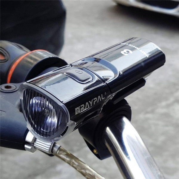 PINkart-USA Online Shopping Black 3W Bicycle Bike Head Lights Waterproof 3 Model Q5 Led Cycling Front Light + Torch Holder Bicycle