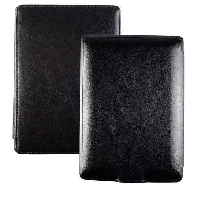 PinKart-USA Online Shopping black Advanced Leather Cover Sleeve For Kinlde 4 Kindle 5 Case High Quality Book Case For Kindle 4Th