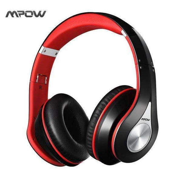 PinKart-USA Online Shopping Black and Red / China Bluetooth Stereo Headphones Headset Wireless Bluetooth 4.0 On-Ear Noisy Cancel Hifi Stere