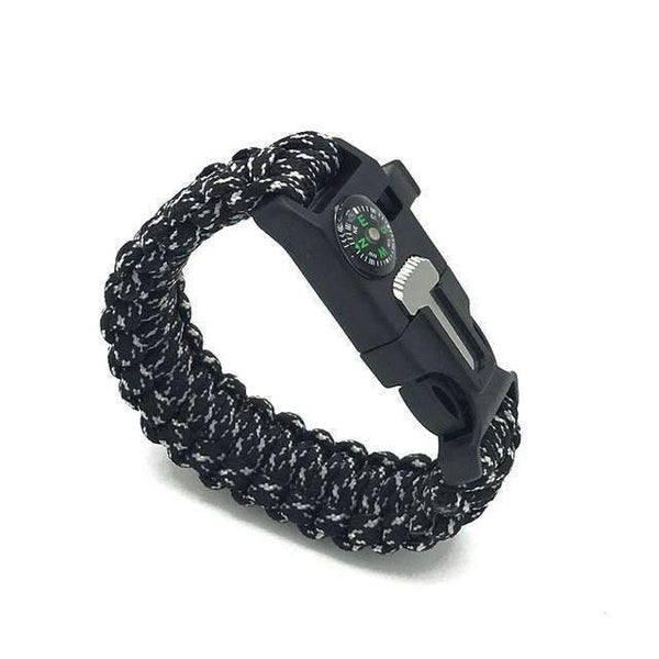 PinKart-USA Online Shopping Black camo Paracord Survival Bracelet