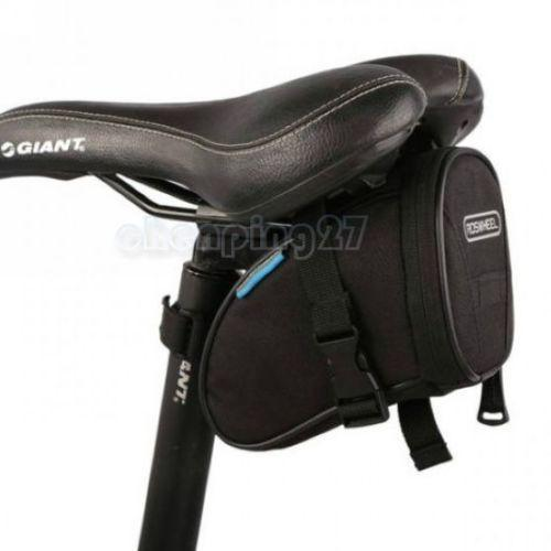PINkart-USA Online Shopping Black Cycling Bike Bicycle Rear Seat Saddle 1L Tail 600D Bag Quick Release 8 Colors Available Free