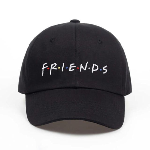 PINkart-USA Online Shopping black FRIENDS Hot Selling Cotton% Popular Letters Embroidery Dad Hats Adjustable Men Women Baseball Cap Hat
