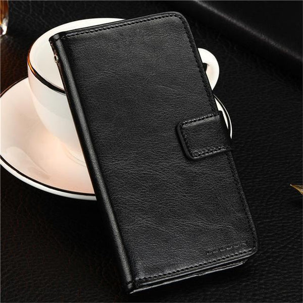 PinKart-USA Online Shopping Black Gucoon Vintage Wallet Case For Zopo Speed 7 Plus Zp952 5.2Inch Pu Leather Retro Flip Cover
