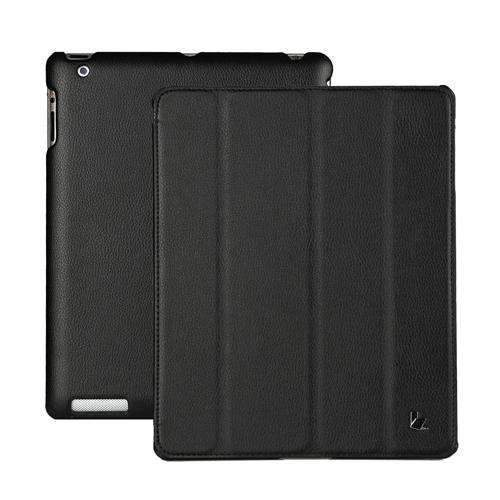 PinKart-USA Online Shopping Black Jisoncase Brand Case For Ipad 2 3 4 Leather Case Pu Protective Smart Cover Case For Ipad 2 3 4
