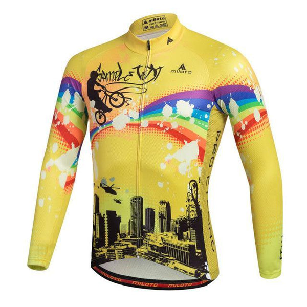 PINkart-USA Online Shopping Black / L Breathable Pro Racing Cycling Jersey Roupa De Ciclismo Winter Long Sleeve Bicycle Cycling