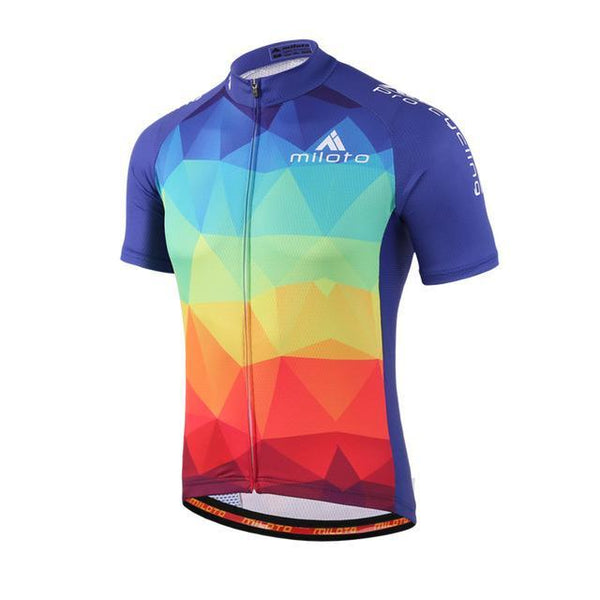 PINkart-USA Online Shopping Black / L Cycling Jersey Tops Ropa Ciclismo Breathable Racing Cycling Clothing Maillot Ciclismo Pro