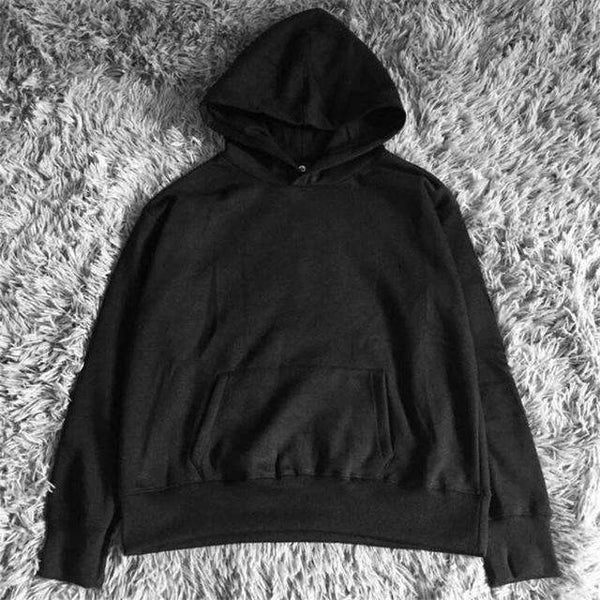 PinKart-USA Online Shopping Black / L Man Si Tun Quality Nice Hip Hop Hoodies With Fleece Warm Winter Kanye West Hoodie Sweatshirt