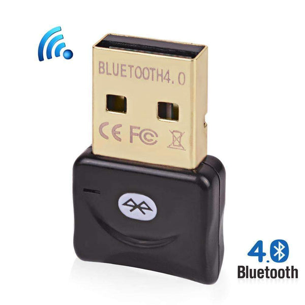 PinKart-USA Online Shopping Black Micro Usb Bluetooth Adapter Csr 4.0 Dual Mode Wireless Adaptador Usb Dongle High Quality Bluetooth