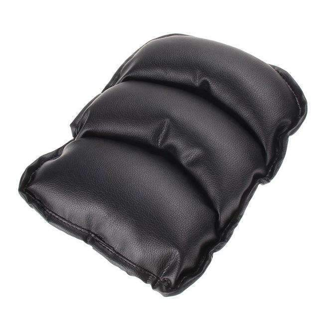 PinKart-USA Online Shopping Black Universal Car Seat Cover Soft Leather Auto Center Armrest Console Box Armrest Seat Protective Pad
