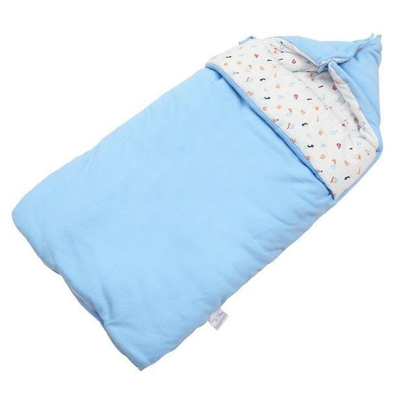 PINkart-USA Online Shopping Blue 300G Baby Sleeping Bag Winter Envelope For Newborns Sleep Thermal Sack Cotton Kids Sleepsack Carriage