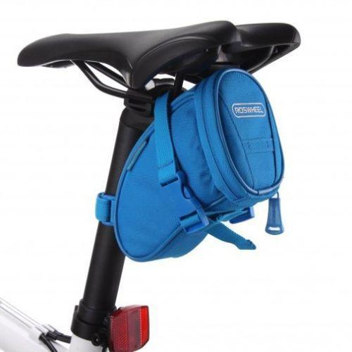 PINkart-USA Online Shopping Blue Cycling Bike Bicycle Rear Seat Saddle 1L Tail 600D Bag Quick Release 8 Colors Available Free