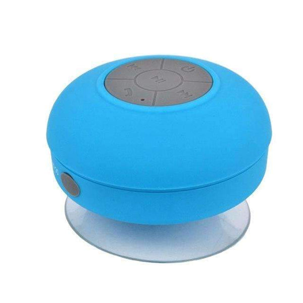 PinKart-USA Online Shopping Blue Mini Portable Subwoofer Shower Wireless Waterproof Bluetooth Speaker Handsfree Receive Call Music