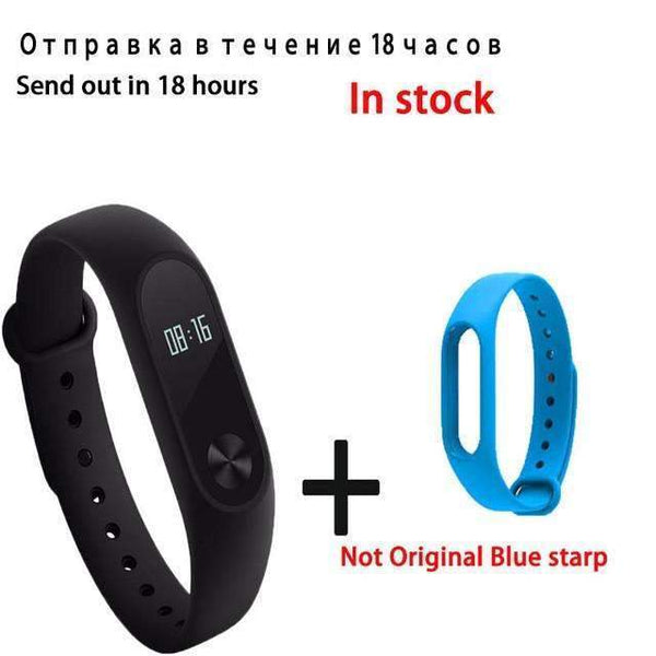 Original Xiaomi Mi Band 2 Smart Bracelet Wristband Tracker Fitness Mi Band Oled Touchpad Sleep - PINkart.in