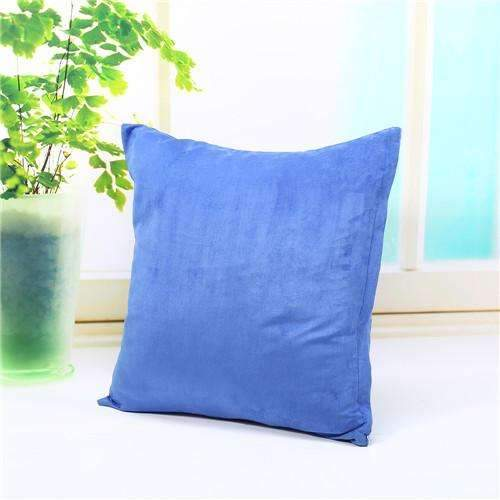 PinKart-USA Online Shopping blue Pillow Case Solid Suede Nap Cushion Decorative Pillowcase Valentine'S Day Gift Body Pillow Cases