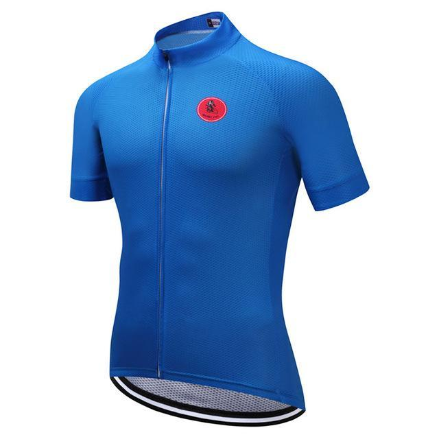 PINkart-USA Online Shopping Blue / S Cycling Jersey Tops Racing Sport Bike Jersey Shirts Mtb Cycling Clothing Bicycle Sportswear Maillot