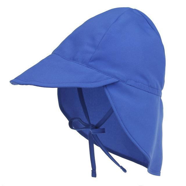 PINkart-USA Online Shopping blue Summer Baby Hat Sun Protection Swimming Cap Outdoor Uv Protection Sun Beach Hats Boys Girls
