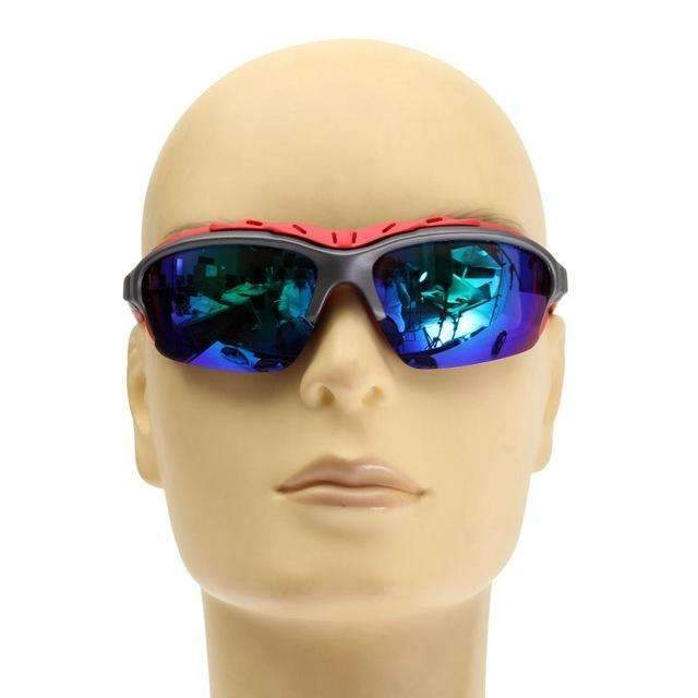 PinKart-USA Online Shopping blue Unisex Sport Sun Glasses Cycling Bicycle Bike Outdoor Eyewear Goggle Gifts