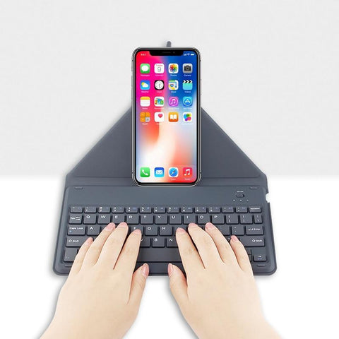 PINkart-USA Online Shopping Bluetooth Keyboard For Apple Iphone X Xs 8 Plus 8Plus Mobile Phone Wireless Bluetooth Keyboard