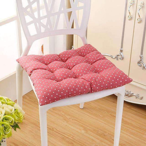 PinKart-USA Online Shopping bo dian fen / 40x40cm 40*40Cm Cheap Soft Home Office Linen Outdoor Square Cotton Seat Pad Thicken Cushion Buttocks Chair