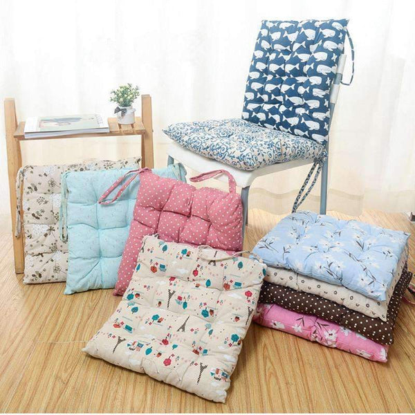 PinKart-USA Online Shopping bo dian ka / 40x40cm 40*40Cm Cheap Soft Home Office Linen Outdoor Square Cotton Seat Pad Thicken Cushion Buttocks Chair