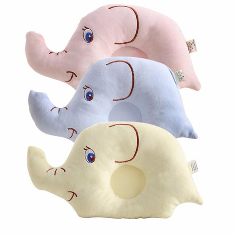 PINkart-USA Online Shopping Born Infant Baby Pillow Sleeping Support Prevent Flat Head Cushion Plush Animal Shape Cute
