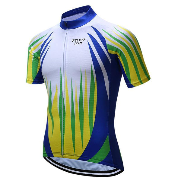 PINkart-USA Online Shopping Brand Teleyi Breathable Cycling Jersey Summer Men'S Mountain Cycling Clothing Bicycle Clothes