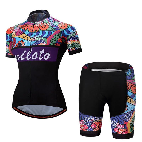 PINkart-USA Online Shopping Breathable Women Cycling Jersey Sets Ropa Ciclismo Quick Dry Bicycle Cycling Clothing Maillot Mtb