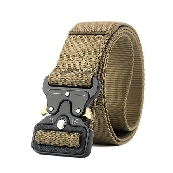 PINkart-USA Online Shopping Brown / 125cm Ping Mens Tactical Belt Military Nylon Belt Outdoor Multifunctional Training Belt Combat Belts