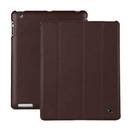 PinKart-USA Online Shopping Brown / China Jisoncase Smart Case For Ipad 4 3 2 Cover Stand Tablet Designer Ultra Thin Leather Covers & Cases