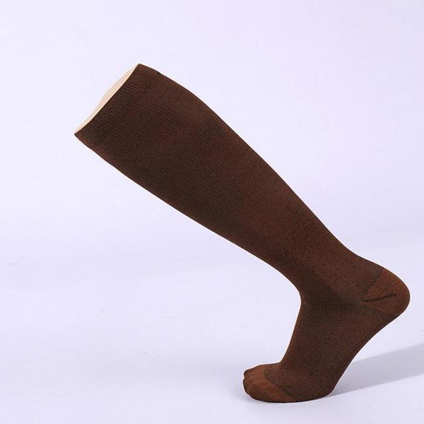 PINkart-USA Online Shopping Brown / S Hot Unisex Compression Stockings Pressure Nylon Varicose Vein Stocking Knee High Leg Support