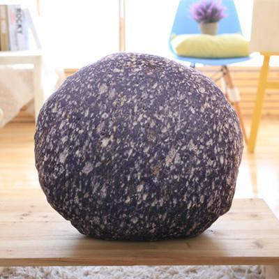 PINkart-USA Online Shopping C / 35cm Creative Stone Pillow Cushion Creative Simulation Stone Pillow Funny Plush Cushions Home Soft