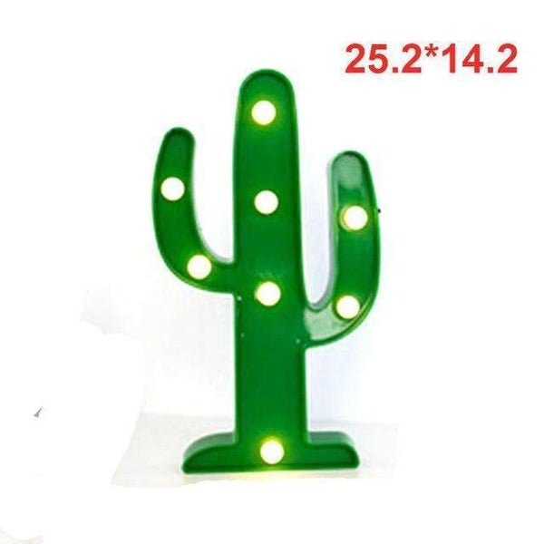 PinKart-USA Online Shopping cactus Tronzo Flamingo Led Light Christmas Wedding Decoration For Home Marquee Unicorn Head Pineaapple