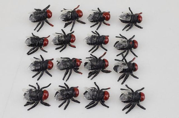 PINkart-USA Online Shopping cangying 10Pcs Spoof Toy Novelty Funny Simulation Centipede Scorpion Fly Cockroach House Lizard Fun Toys
