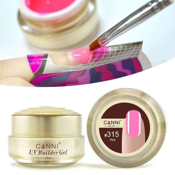 PinKart-USA Online Shopping Canni Jelly Builder Gel 15Ml High Viscosity Semi-Transparent Clear Camouflage 25 Colors 50951 Nail