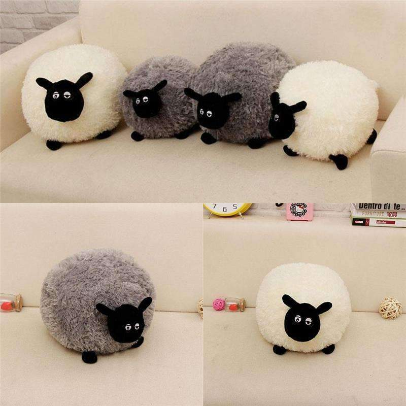 PinKart-USA Online Shopping Cartoon Sheep Lamb Doll Plush Toys Children'S Baby Birthday Kids Lovely Soft Fluffy Stuffed Toys