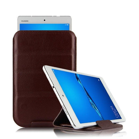 PINkart-USA Online Shopping Case Cowhide Sleeve For Huawei Mediapad M5 Lite 10 Protective Cover Genuine Leather