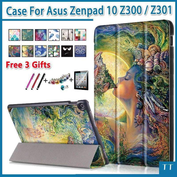 PinKart-USA Online Shopping Case For Asus Zenpad 10 Z300Cl Z300Cg Z300C Z300M Z300Cnl Pu Leather Stand Case For Asus Zenpad 10