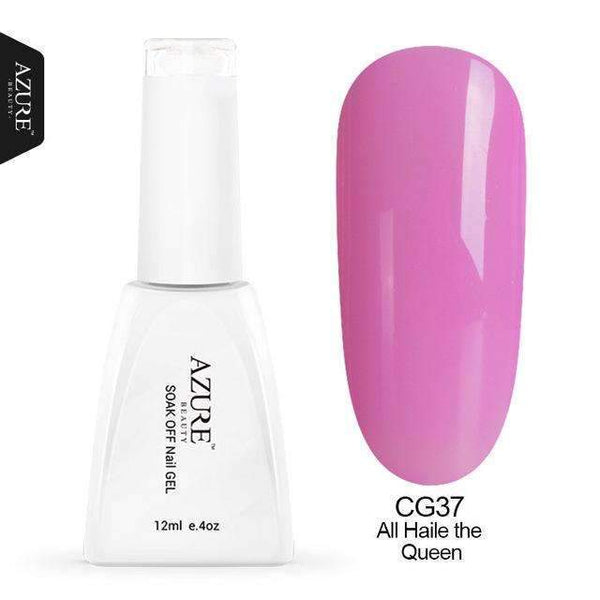 PinKart-USA Online Shopping CG37 12Ml Uv Nail Gel Polish Soak Off Nail Gel Grey/Red Color Gel Polish Diy Nail Art Varnish For